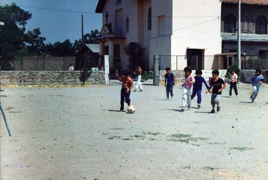 Ninos Jugando Futbol Memorias Del Siglo Xx Chile Dibam