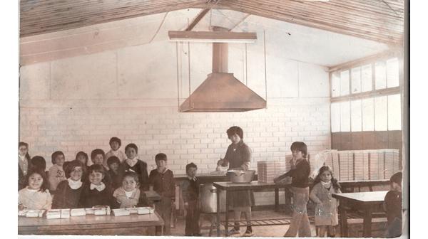 Comedor de la escuela memorias del siglo xx chile dibam for Comedor de escuela
